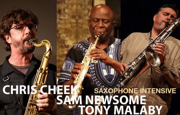 Saxophone Madness Summer intensive